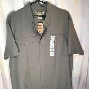 NWT DULUTH TRADING CO. No worries Shirt SIZE L 😎!
